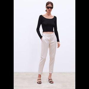 Zara Khaki Chino - Size 4